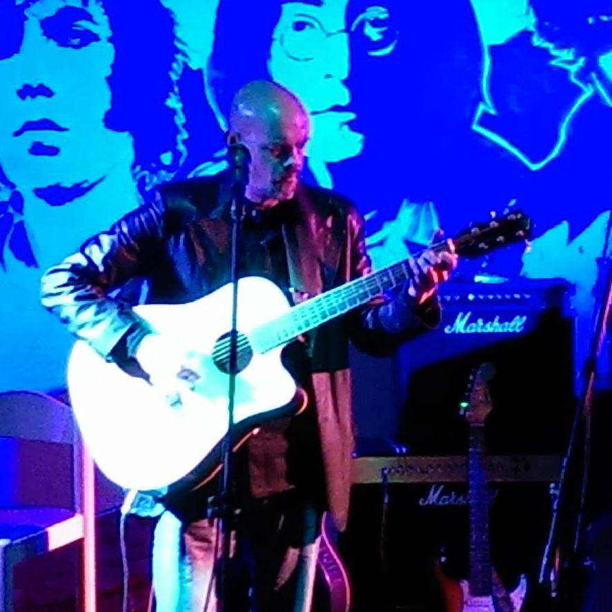 Acoustic blues video at the Tower of Song